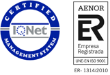 IQNet Certified - AENOR